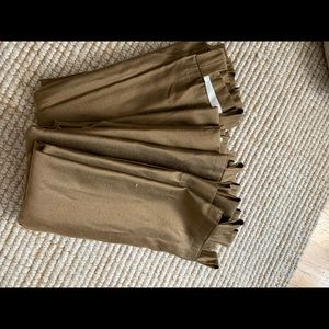 Lot of 4 curtain panels.